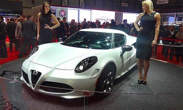 Alfa Romeo 4C назвали цену