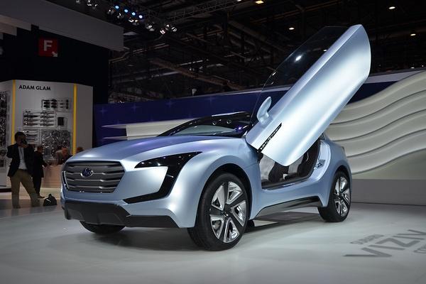 Subaru продемонстрировал дизайн будущего