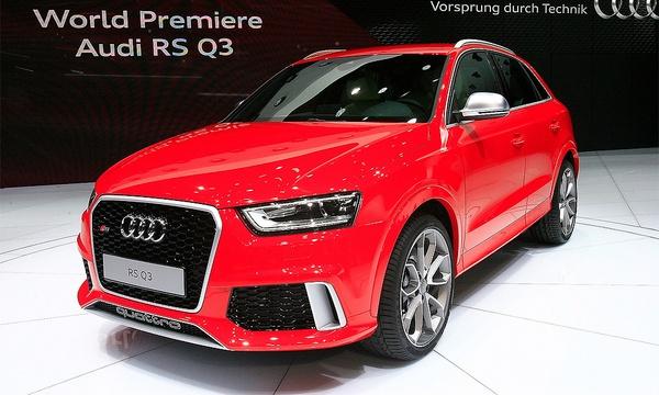 Audi RS Q3: самый быстрый кроссовер мотор-шоу